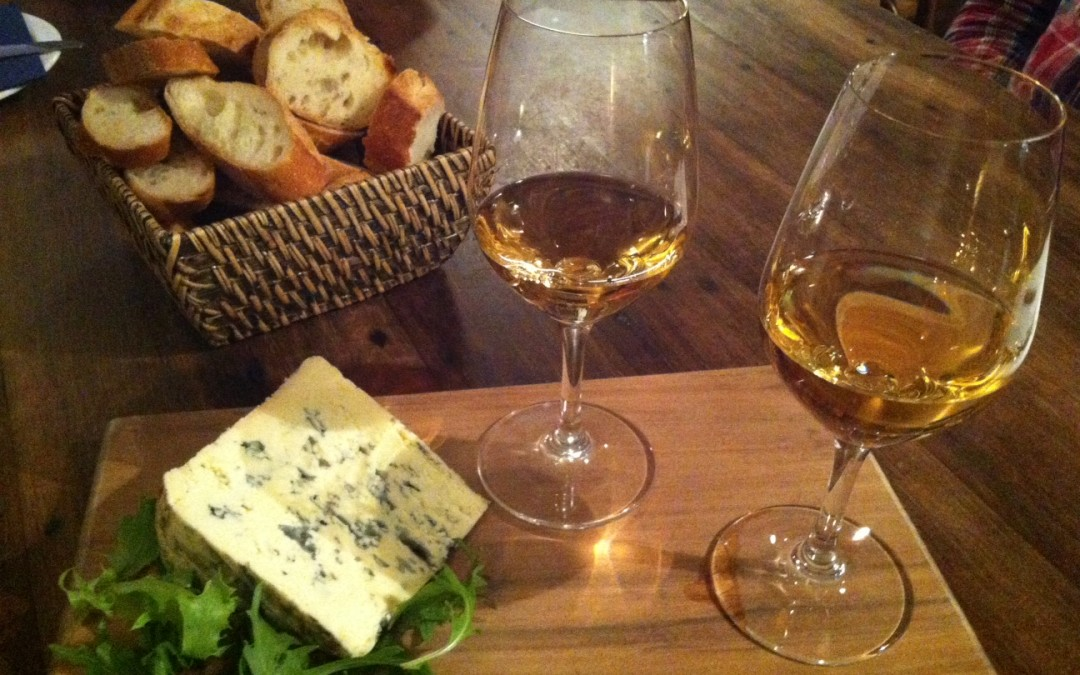 Wine and cheese tasting at Maison Vauron